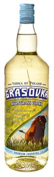 Wodka Grasovka Bison Brand Vodka 40 % vol. Literflasche