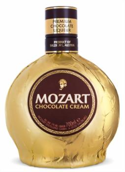 Mozart Chocolate Cream Gold Liqueur 17 %vol.