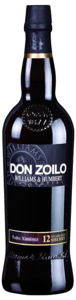 Don Zoilo Williams & Humbert Sherry Pedro Ximenez very sweet